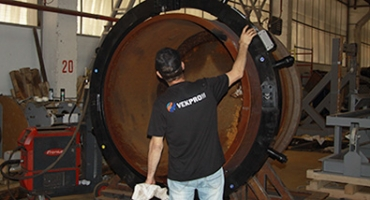 Монтаж и тестирование разъемного трубореза ТР-1520