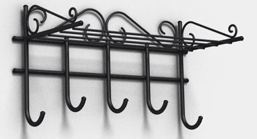 Технология изготовления металлических вешалок