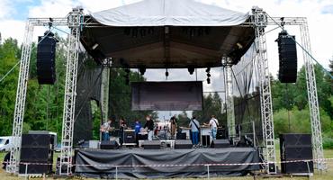Технология изготовления быстровозводимых концертных площадок